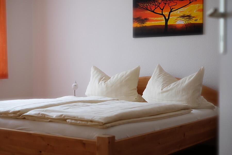 MWG-Gästewohnung - Schlafzimmer