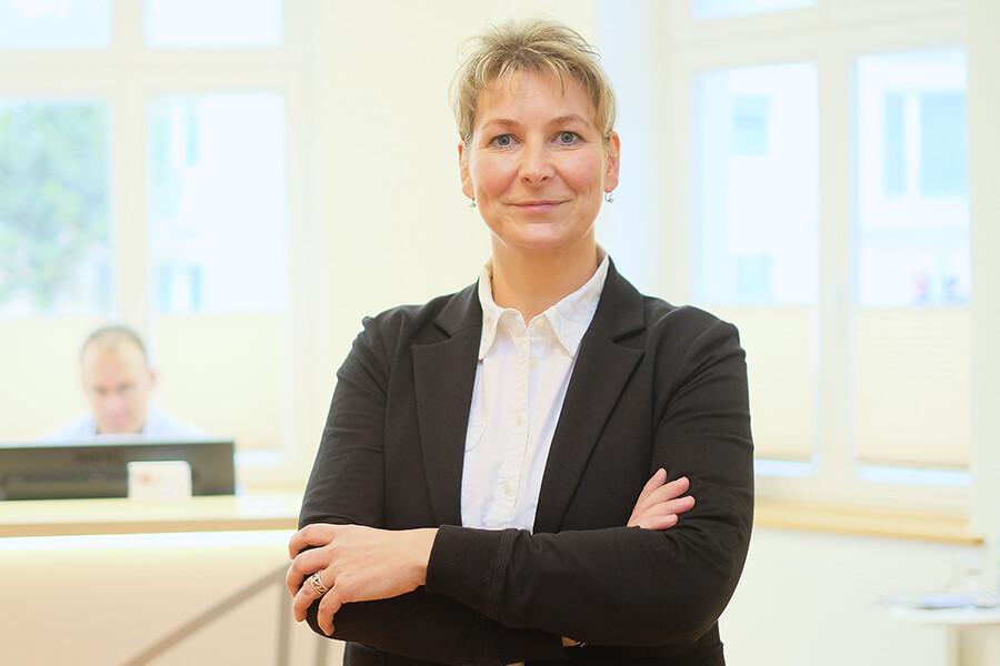 Diana Grams, Geschäftsführender Vorstand bei der MWG