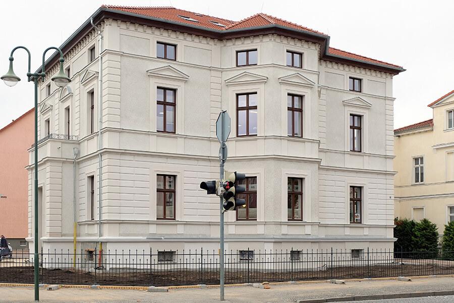 Der neue Geschäftssitz der MWG in der Augustastraße 3