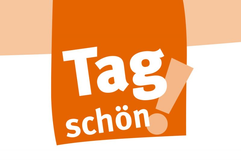 Das mwg MieterMagazin Tag schön!-Logo