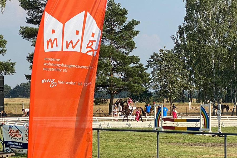 MWG unterstützt Pferdesportveranstaltung für Jung & Alt