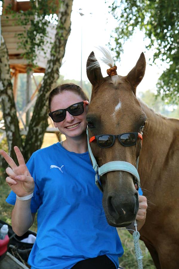 Die MWG-Sonnenbrillen – gefragt bei Reitern und Pferden